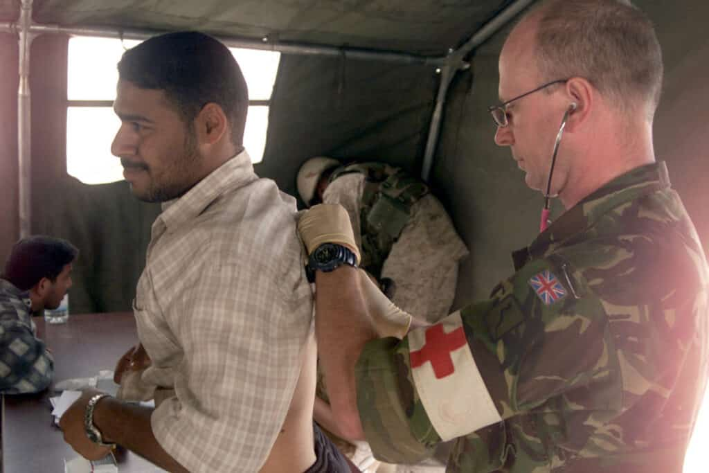 Who should choose to become a Military Doctor