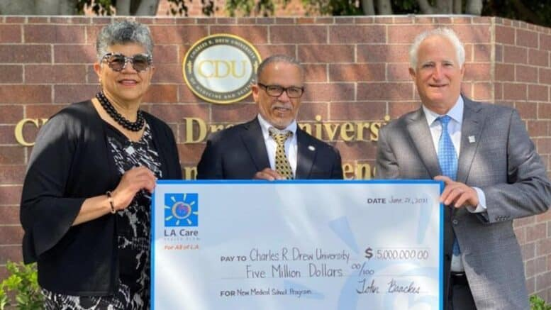 Charles R. Drew University Receives $50 Million Grant To Boost Medical Diversity